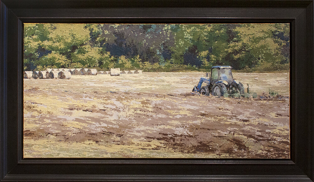 """Just Another Day - 36"""" x 18"""" - oil"""