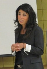 Carla Cosenzi Tells Students There Are Many Career Opportunities for Females in the Auto Industry