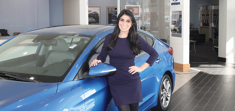 Carla Cosenzi says sales have been on the rise for several years at TommyCar Auto Group, and she expects this trend to continue at its dealerships.