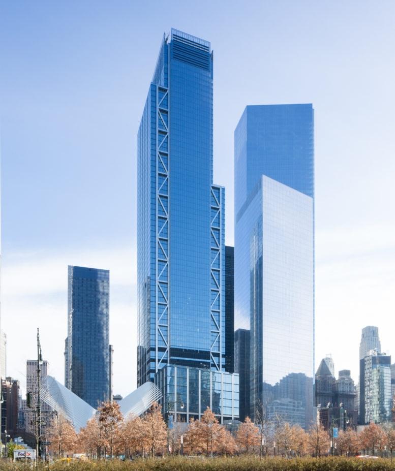 3 (left) & 4 (right) World Trade Center