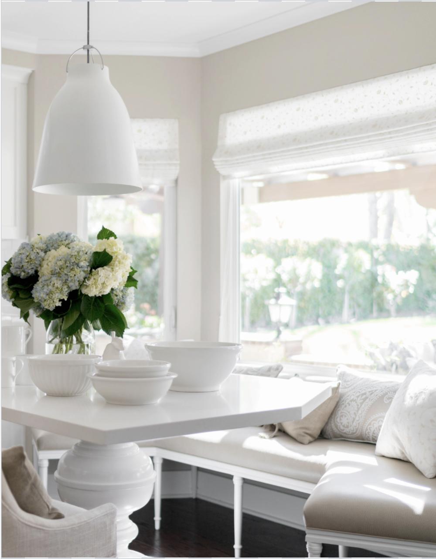 A bright white kitchen designed by LA based, Four Point Design Build