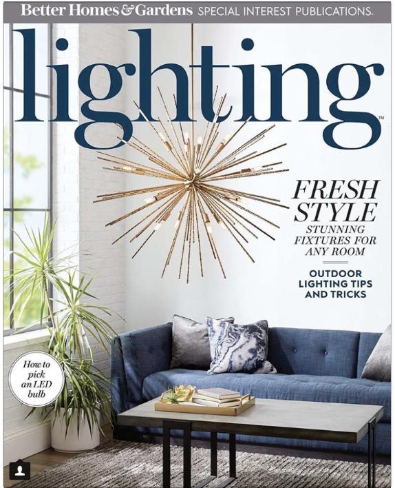 The cover of the latest issue of LIGHTING magazine, published by the American Lighting Association