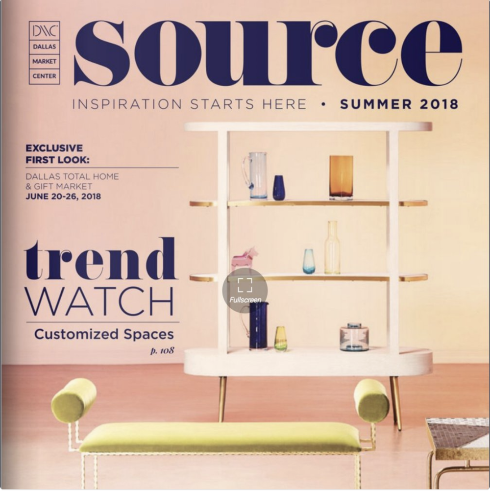 Dallas Market Center's SOURCE magazine