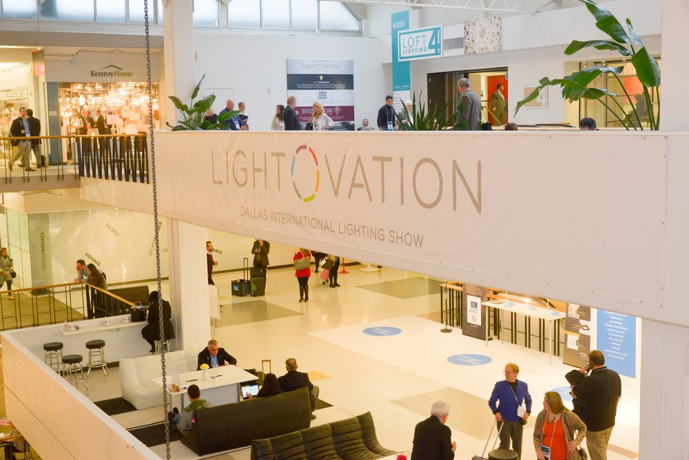 Lightovation at Dallas Market Center - North America's largest lighting wholesale tradeshow
