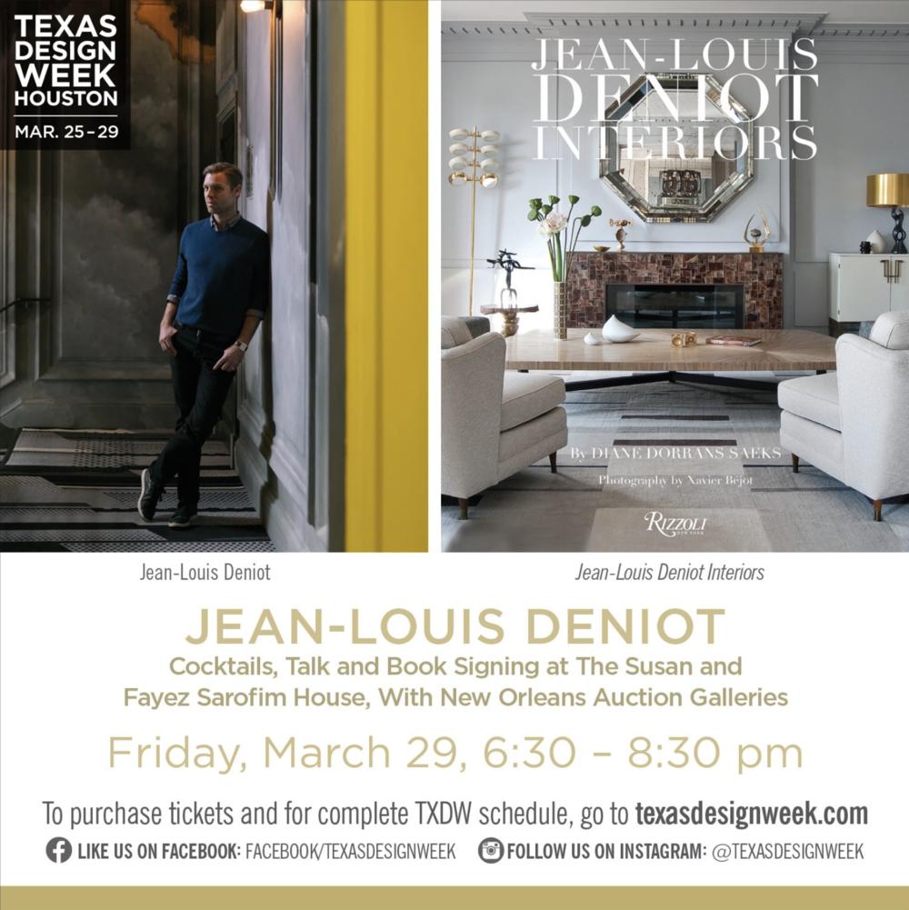Texas Design Week Jean Louis Denoit