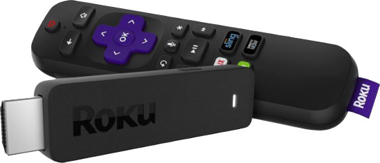 Roku - Watch Netflix, PBS, Comedy Central, and more. Requires aTV and wireless Internet tofunction.Checkout time: 3 weeks.