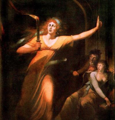 Fuseli's  The Sleepwalking Lady Macbeth