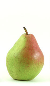 Comice pears are comparatively smaller than other common pears.