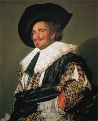 The Laughing Cavalier  (c. 1624)  by Frans Hals