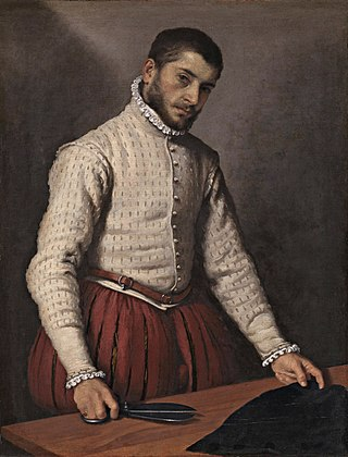 The Tailor  (c. 1570-5)  by Giovanni Battista Moroni