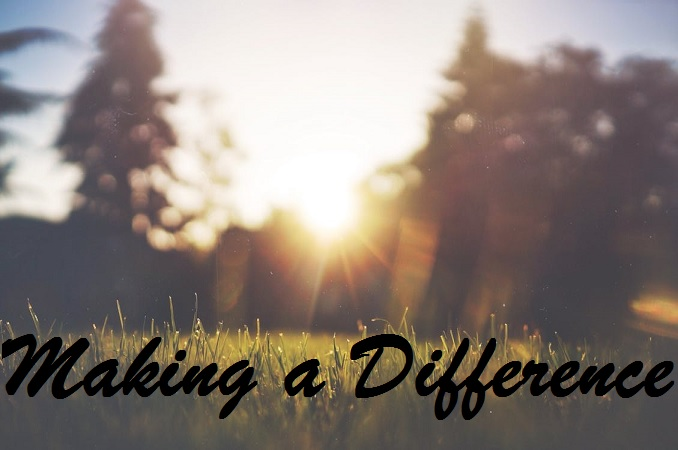Click here to find out more about opportunities to Make a Difference!