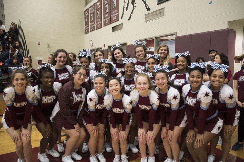 Northside's Cheerleading Team