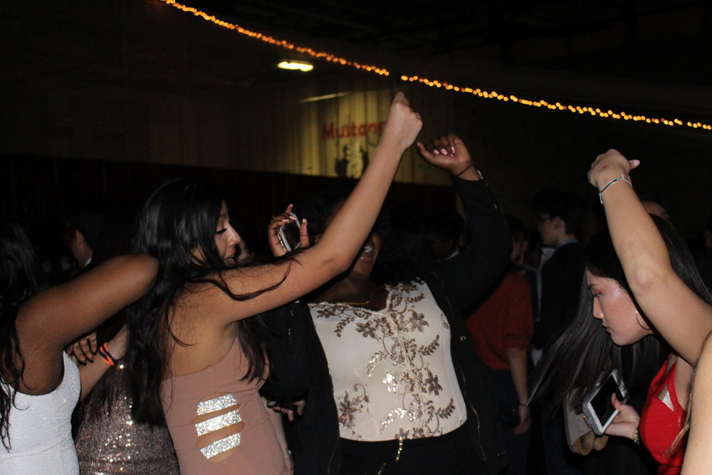 Students danced the night away while singing along to all the lyrics.