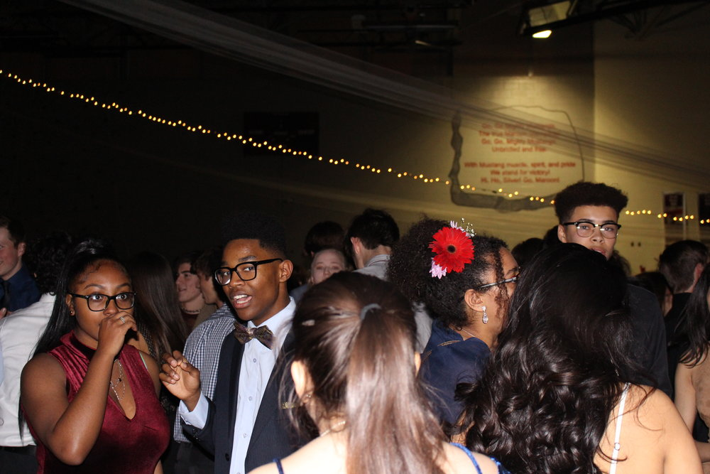 Students loved the atmosphere and setup of the dance.