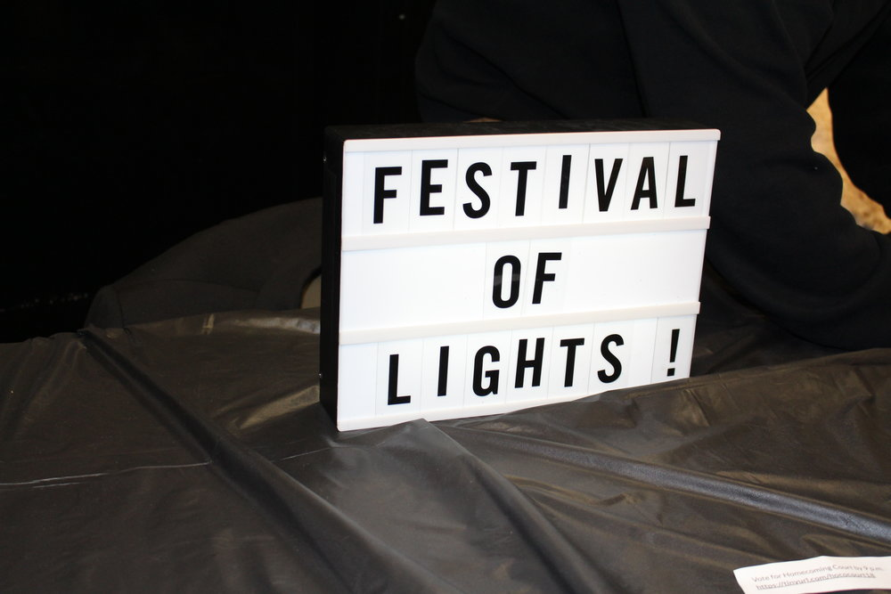 "This year's theme was ""Festival of Lights,"" inspired by the Disney movie ""Tangled."""