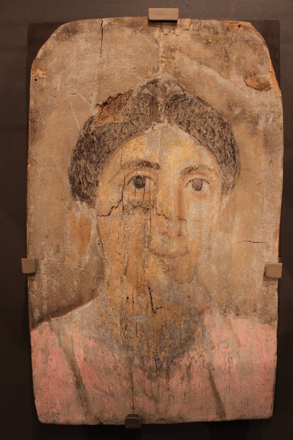 Mummy Portrait of Woman - Roman period (30 BCE  - 295 CE)