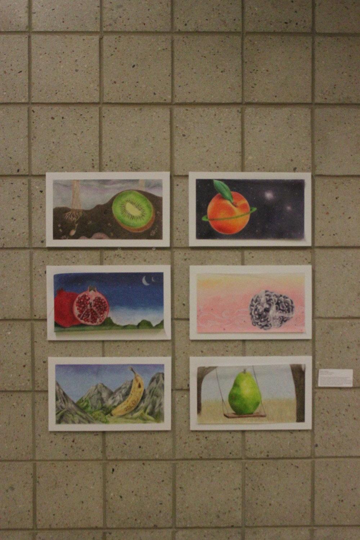 Artist, Lauren Fujishima, A Fruit in its Natural Habitat