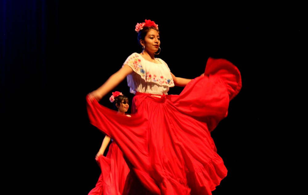 Susy Morales, Adv. 902, behind Monica Garcia, Adv. 903.
