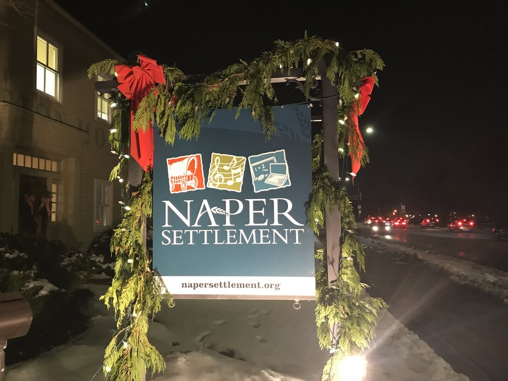Naperville's Naper Settlement hosts the Kindlemart every year.