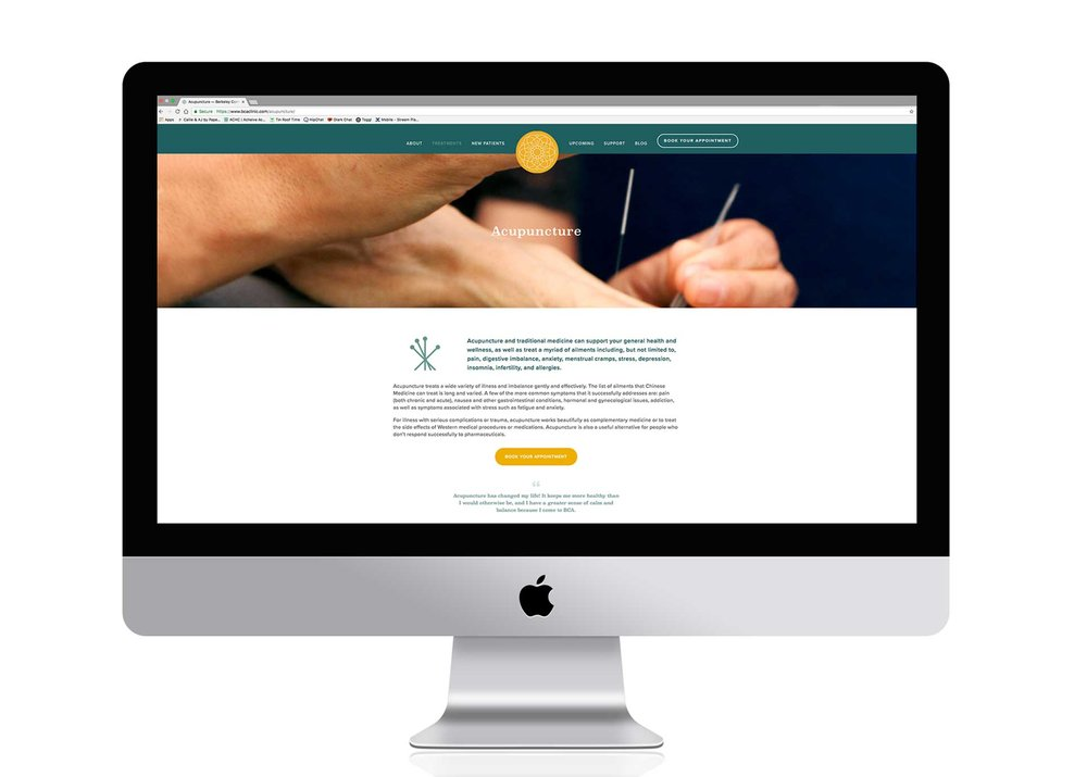 BCA website design | Clean, Simple Bay Area Graphic Design