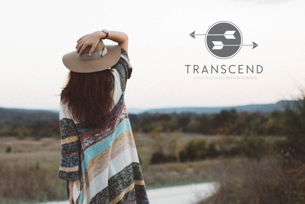 Style That Goes Beyond Border | Transcend Logo Design