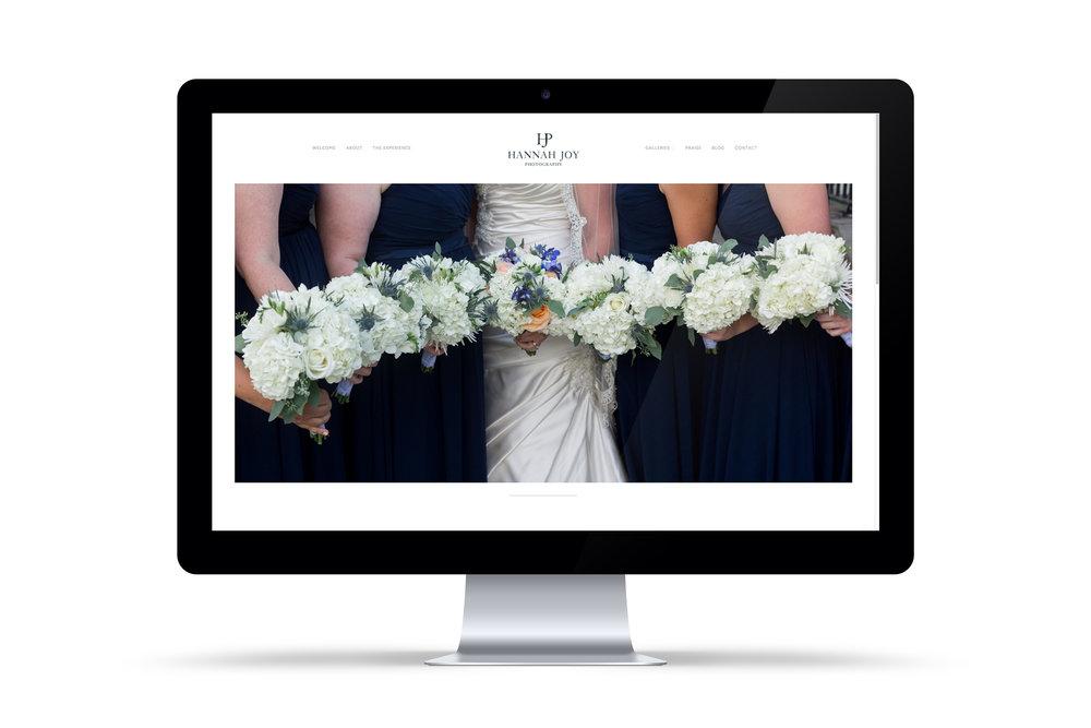 Squarespace website design by Callie Cullum