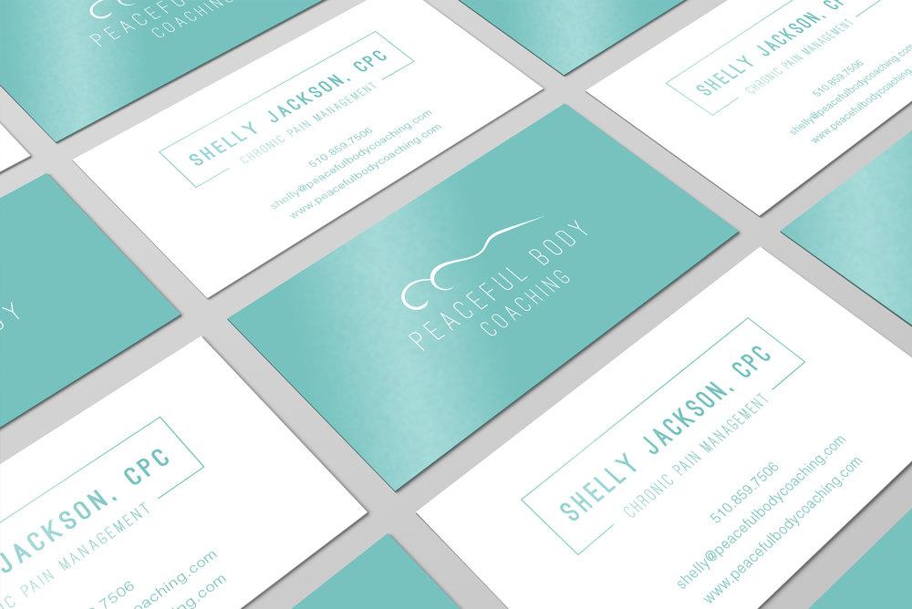 Business Card Design in Atlanta Georgia by Callie Cullum