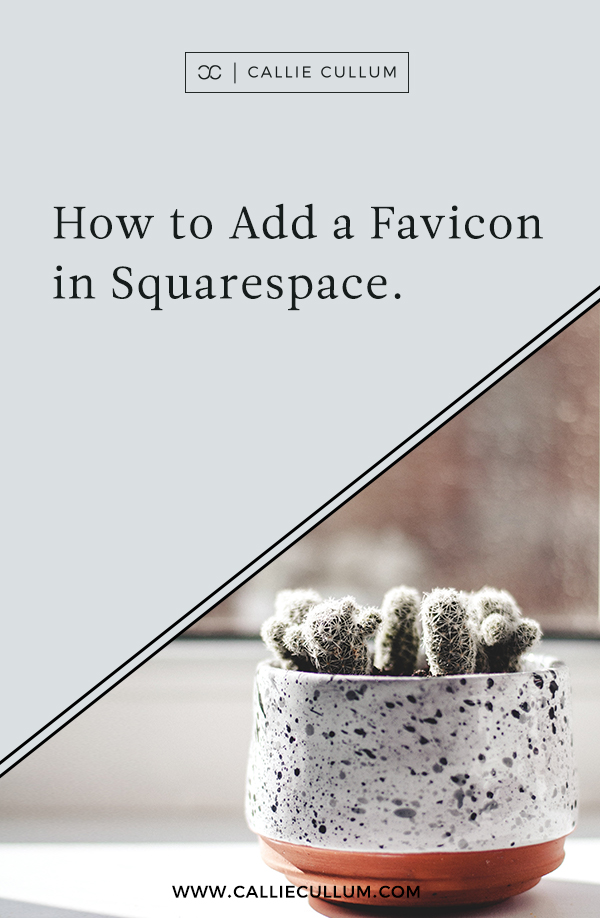 Squarespace Website Tutorial: how to add a favicon in squarespace.