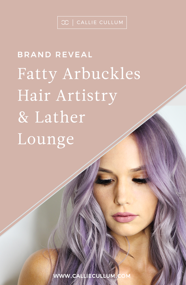 Brand Reveal for Fatty Arbuckles, a hair salon based in Perth, Australia. Take a look at the before/after of this rebrand and let me know what you think. If you are in need of a rebrand, don't hesitate to reach out. No matter what you are looking for, we can work together to design something amazing and set your brand apart from the rest. | Callie Cullum Design | Atlanta based graphic and website designer.