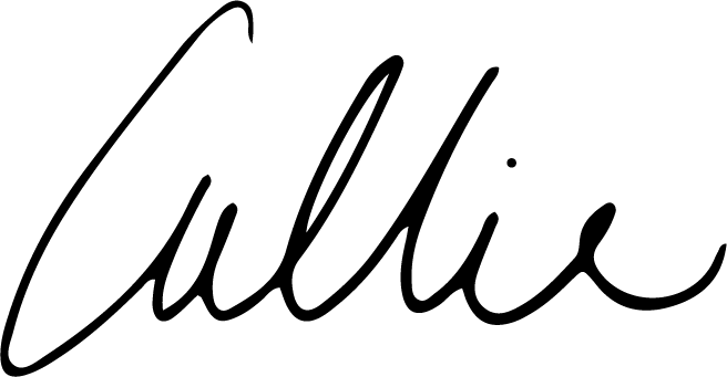 Happy branding! Callie Cullum Design. Design and branding for small businesses based in Atlanta, Georgia.
