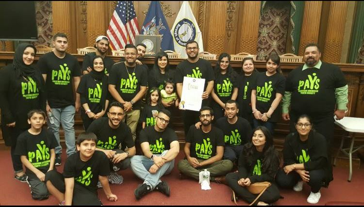 PAYS volunteers at Brooklyn Borough President's Iftaar Dinner - 10.01.16