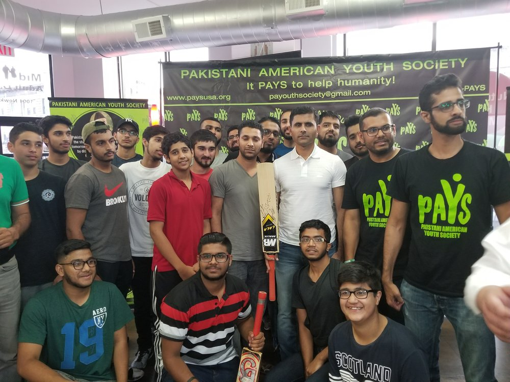 World Class Cricketer, Abdul Razzaq, Visits the PAYS Center - 08.10.17