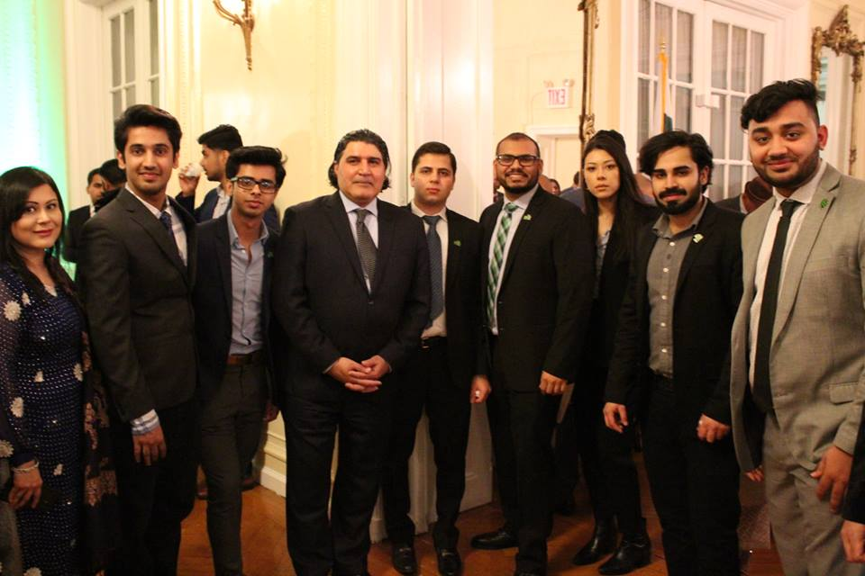 PAYS Visits the Pakistani Consulate for Pakistan Resolution Day - 3.25.18