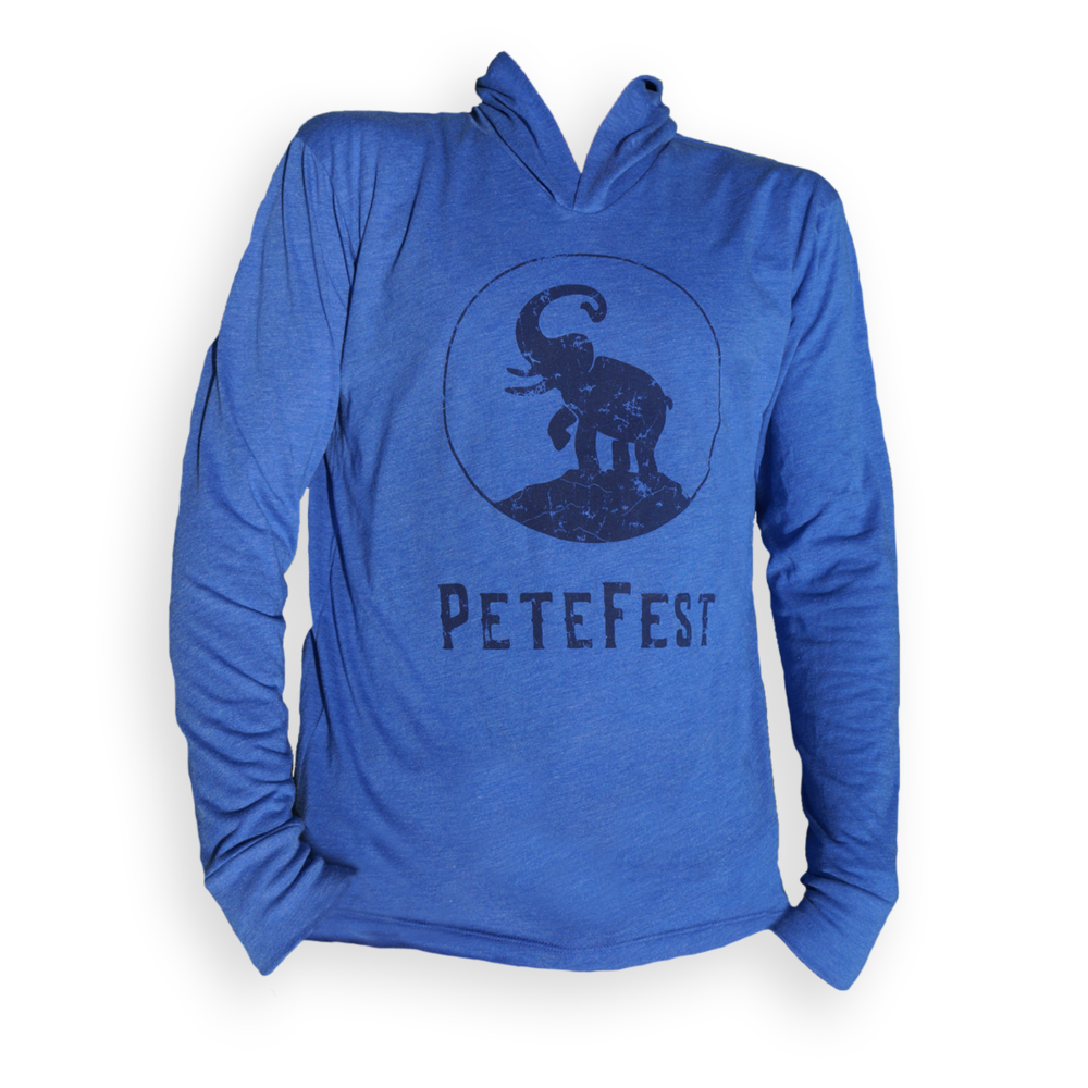 f90ce01afdf Blue T-Shirt Hoodie — The Pete Foundation