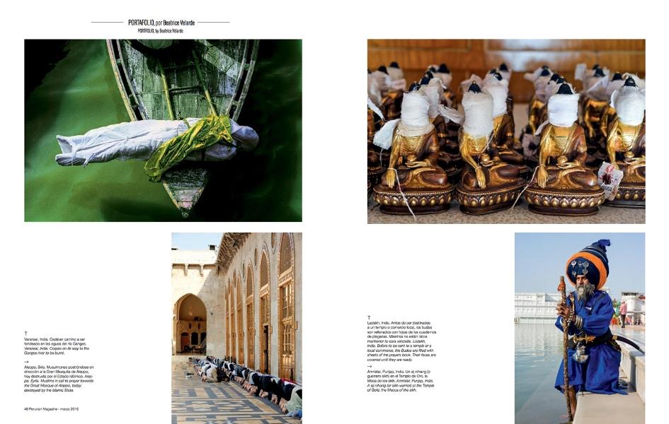 Revista Peruvian Arlines. PORTAFOLIO FOTOGRÁFICO.