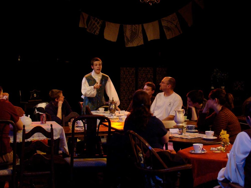Actors Engaging Audience in Dialogue (photo taken at an invited dress rehearsal)