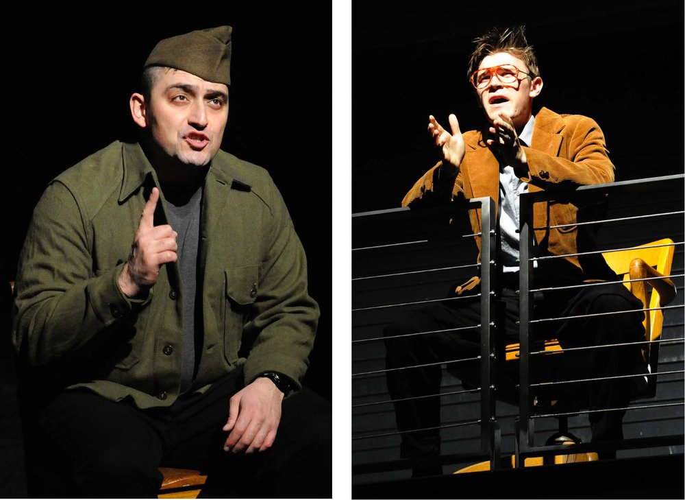In this vignette, a variety of soldiers from different eras apply for jobs following the completion of their military service. Audiences see the variety of responses that they receive at different moments in US history.