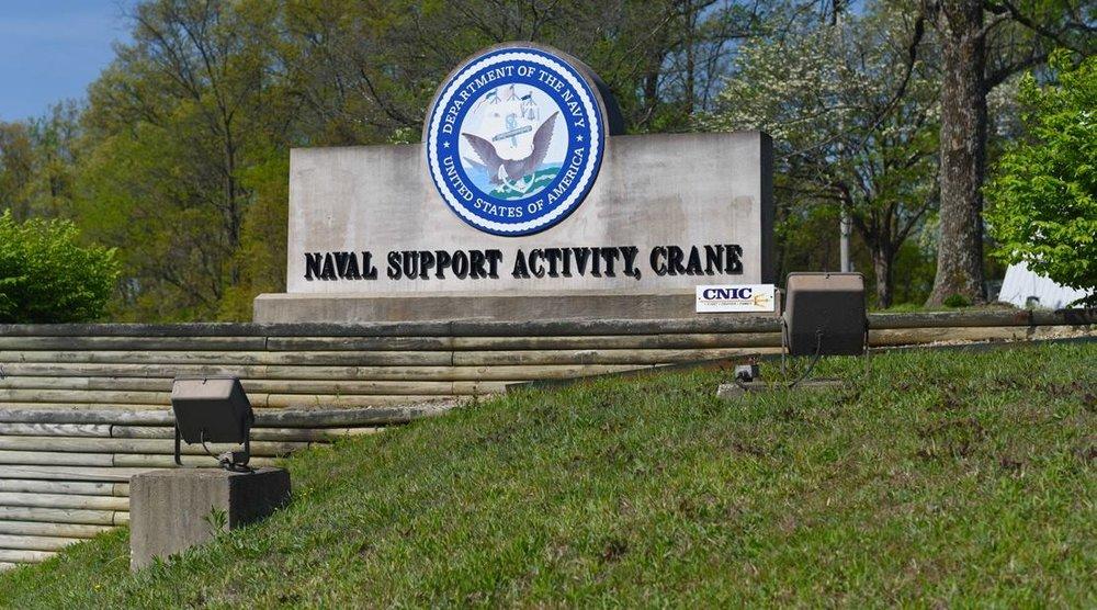 Naval Support Activity Crane gate.jpg