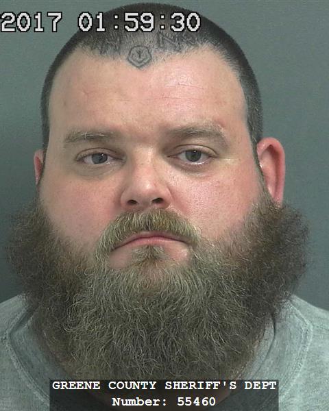 Benjamin K. Lewis, older mug shot from December of 2017. Courtesy of Greene County Sheriff's Department