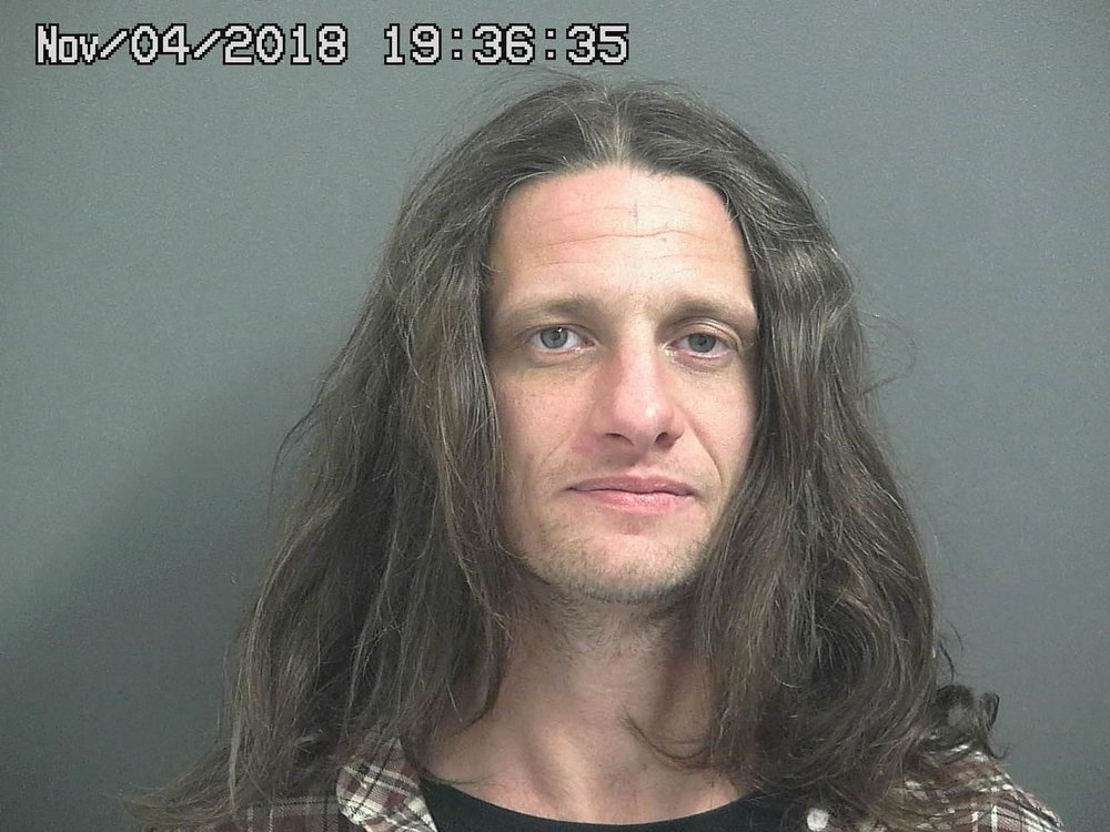 Derrick Harper. Mug shot from his arrest on November 4. As of early Thursday, a mug shot from today's arrest was not yet available.