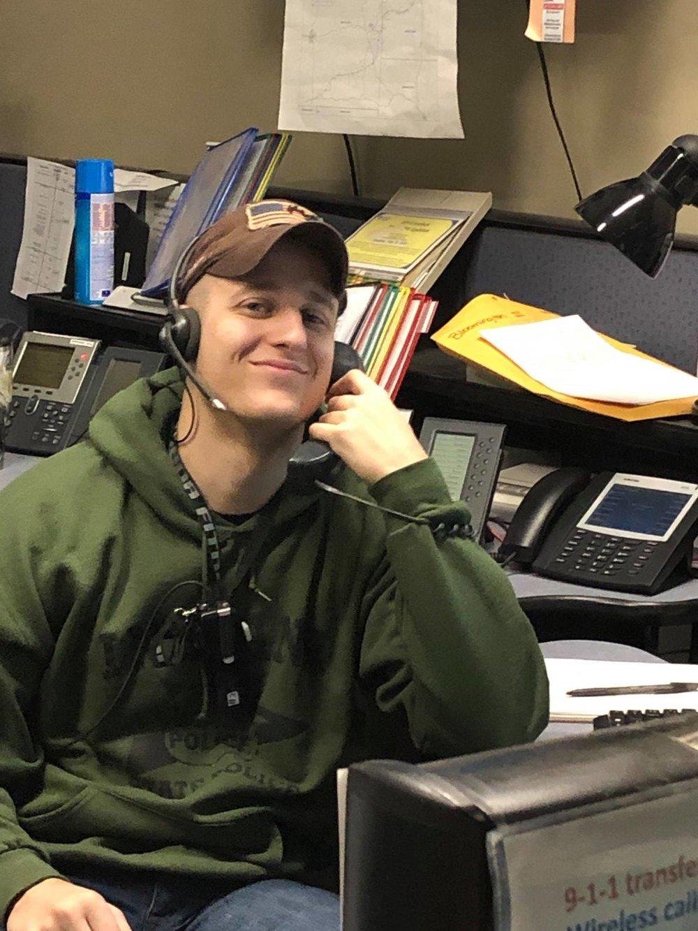 ISP Dispatcher Mitch McKinney