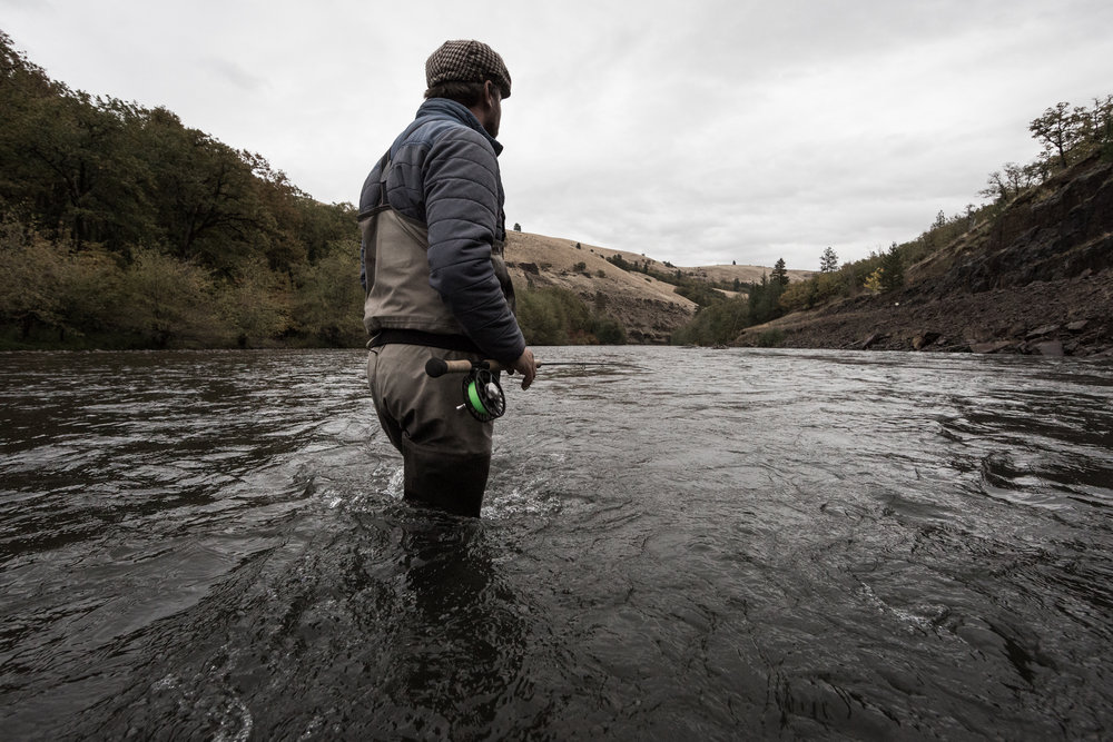 Klickitat Fly Fishing. photo Caldwell Rohrbach.