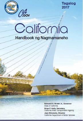 Tagalog California Driver's Manual