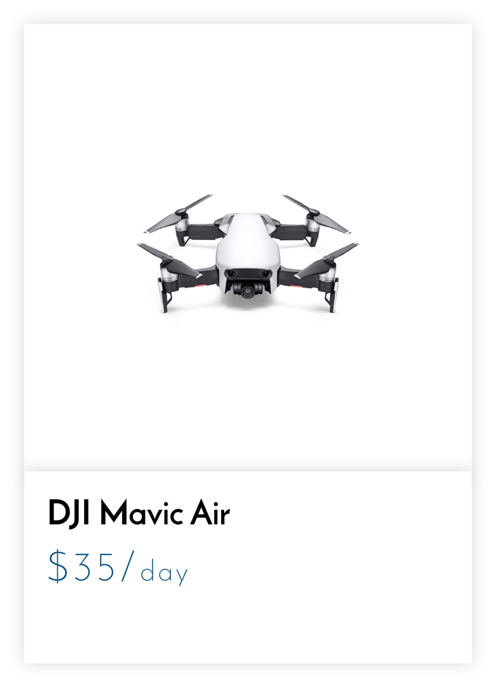Rent DJI Mavic - Mavic Rental - DJI for Rent - Los Angeles