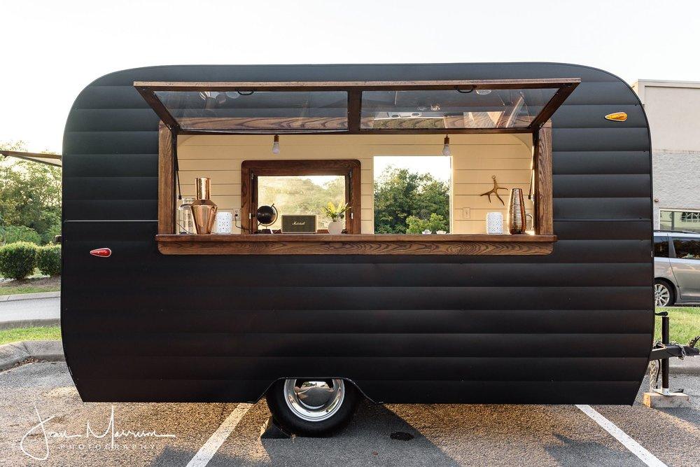 The Aero Bar - MOBILE BAR & ATTENDANT We provide the mobile bar, you provide the beverages! INCLUDES: Mobile bar