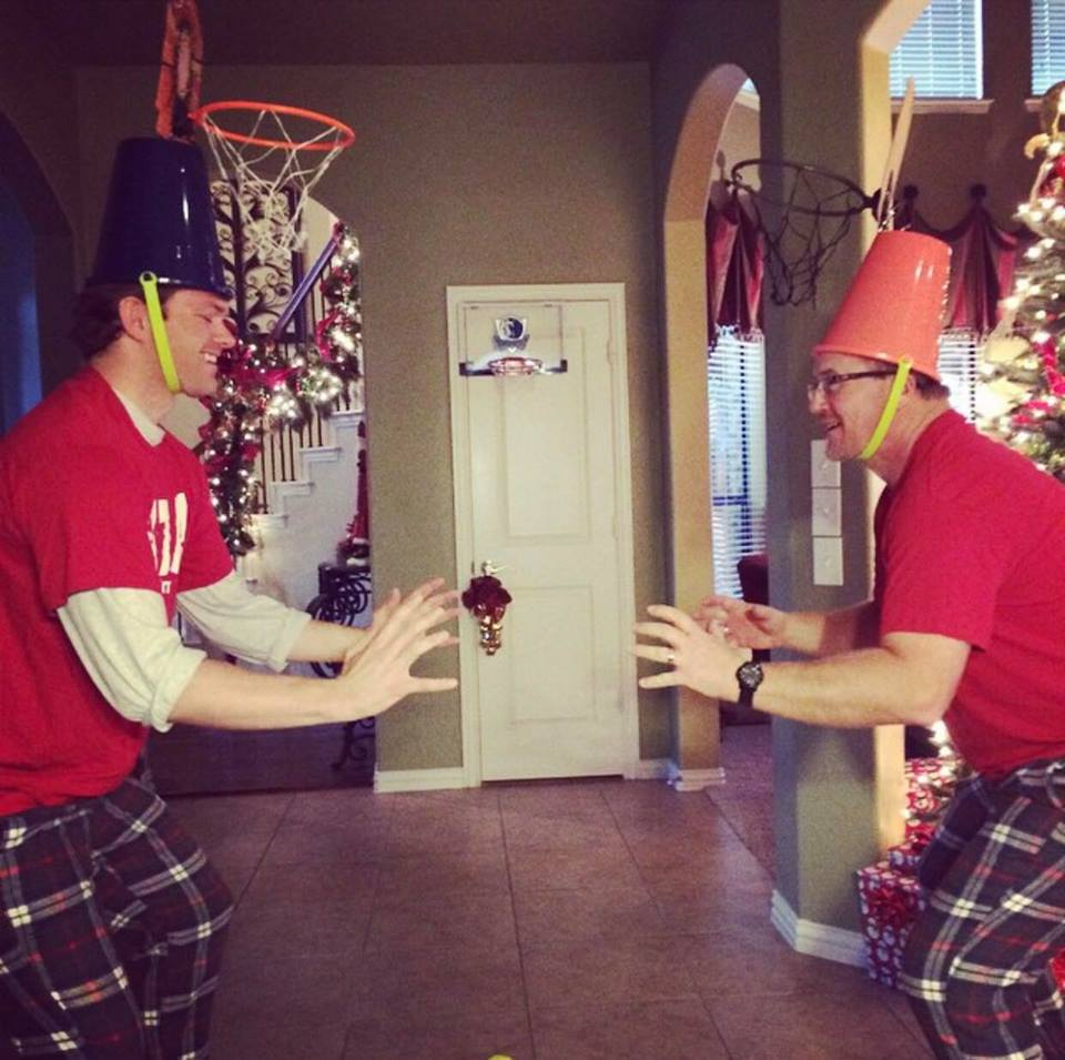 Bucketball, Ashley's reindeer game 2015
