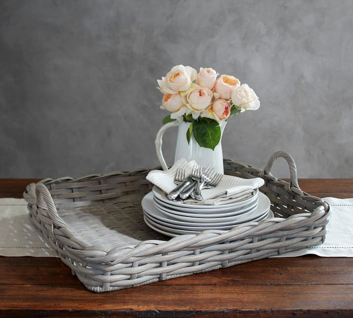 Pottery Barn |Aubrey Basket Tray