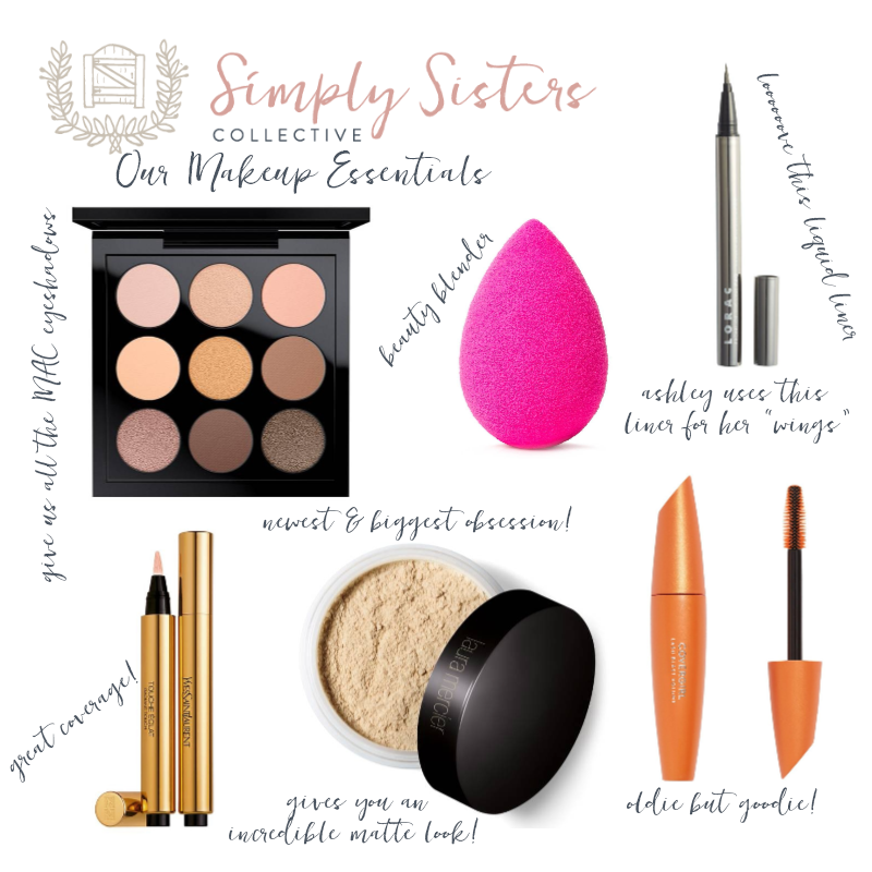 Simply Sisters Collective_Makeup Essentials