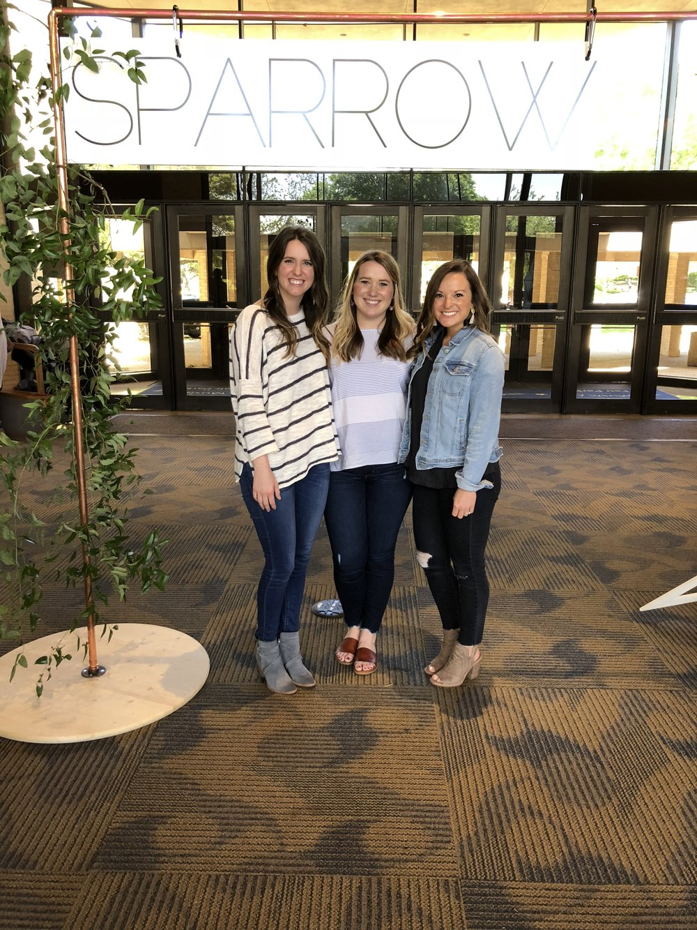We attended Sparrow with our friend Erica who came from Fayetteville, Arkansas to join us and we are so glad she did!