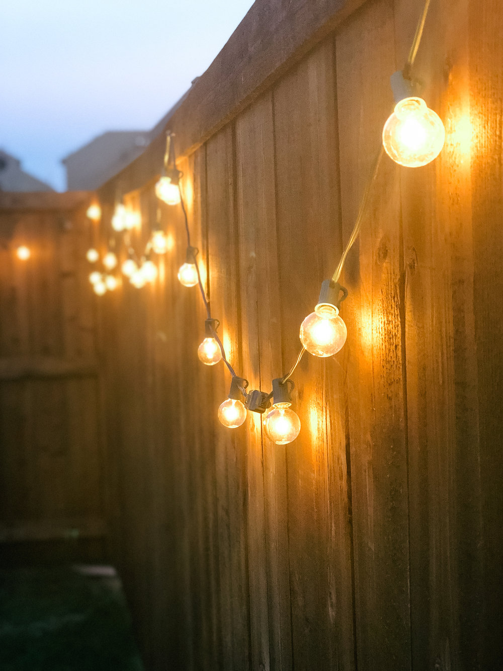 Simply Sisters Patio Lights